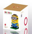 Loz Diamond block toys - cartoon & aninmal - Minion Dave style