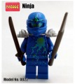 Decool minifigure - Ninja series, Nrg Jay, No Package Box