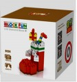 Loz diamond block Toys  Funny Christmas Series, Christmas boot