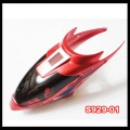 S929 rc helicopter parts - head cover (Red)
