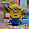 BALODY Serial Block Toy, Cartoon Series,, Minion 456pcs