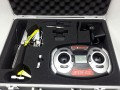 NINE EAGLES RC 2.4GHZ SOLO PRO V mini Helicopter with Aluminium carrying case