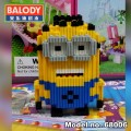 BALODY Serial Block Toy, Cartoon Series,, Minion Dave 640pcs