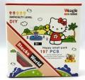 Weagle mini block toys - cartoon & animal - Kitty Happy Small Park