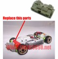 Xmods drift car replacement parts - A