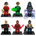 Decool minifigure -Super Heroes series IX, Full set