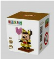 Loz diamond block Toys, Cartoon Series, Golden Minnie