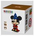 Loz diamond block Toys, Mickey Series, Mickey Wizard