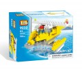 Loz Diamond block Toys - City series, Airport, seaplane