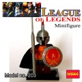 Decool minifigure - League of Legends Series Pantheon NO PACKING BOX