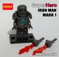 Decool minifigure - Ironman series III, Mark 1