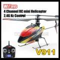 4CH 4 Channel 2.4GHz RC Mini Single Radio Propeller Helicopter Gyro V911 RTF