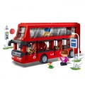 Banbao Block Toy set - Double Desk Bus