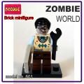 Decool minifigure - Zombie World,computer programmer