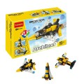 Decool Bricks toys - Architect series, 3 IN 1 Airplane