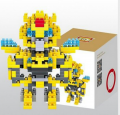 Loz Diamond block toys - Super Hero Series- Bumblebee
