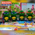 BALODY Serial Block Toy, Cartoon Series,ninja turtles Set
