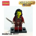 Decool minifigure - The Guardians of the Galaxy Series Gamora NO PACKING BOX
