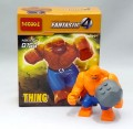 Decool minfigure, Super Hero series, Blue THING Set