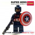 Decool minifigure Series 12 - Captain America NO PACKING BOX