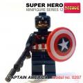 Decool minifigure Series 12 - Captain America NO PACKING BOX