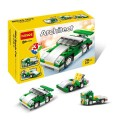 Decool Bricks toys - Architect series, 3 IN 1 Sport car
