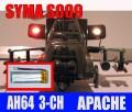 3.7V 500mAh LiPo BATTERY SYMA S002 S009 RC HELICOPTER
