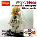 Decool minifigure  Super Hero Series Fantastic 4 set WINTER MODE
