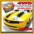 XMODS Transformers AWD Bumblebee RC Car Start kit