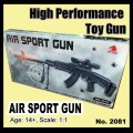 Airsoft Toy gun model no.2018