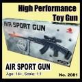 Airsoft Toy gun model no.2018