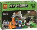 Minecraft My World Block Toy Scene set - THE CAVE