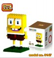 Loz dismond block - Spongebob series Square Pants  140pcs