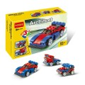 Decool Bricks toys - Architect series, 3 IN 1 Speeder