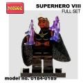 Decool minifigure - Super Hero Series VIII Full Set NO PACKING BOX