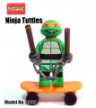 Decool minifFigure, Ninja Turtles series, Michelangelo No Packing box