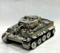 Metal Laser Etching 3D WWII King Tank