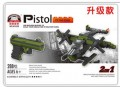 Pistol Block Toys Gun CF SIG P288 2 IN 1, Real Scale 1:1