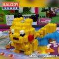 BALODY Serial Block Toy, Cartoon Series,, Pikachu 399pcs