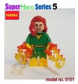 Decool minifigure -Super Heroes series V, Phoenix