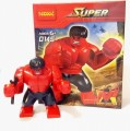 Decool Minfigure, Super Hero series, RED HULK
