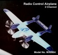 Remote Control 2 Channel EPP Aircraft - WX8804