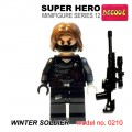 Decool minifigure Series 12 - Winter Soldier NO PACKING BOX
