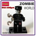Decool minifigure - Zombie World, Policeman