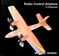 Remote Control 2 Channel EPP Aircraft - WX8806