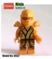 Decool minifigure - Ninja series, Series III, Golden Ninja No Package Box