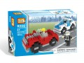 Loz Diamond block Toys - City series, Police Chase