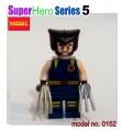 Decool minifigure -Super Heroes series V, Wolverine