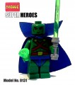 Decool minifigure - Super Heroes series III, Martain Manhunter