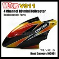 V911 rc helicopter parts - Canopy